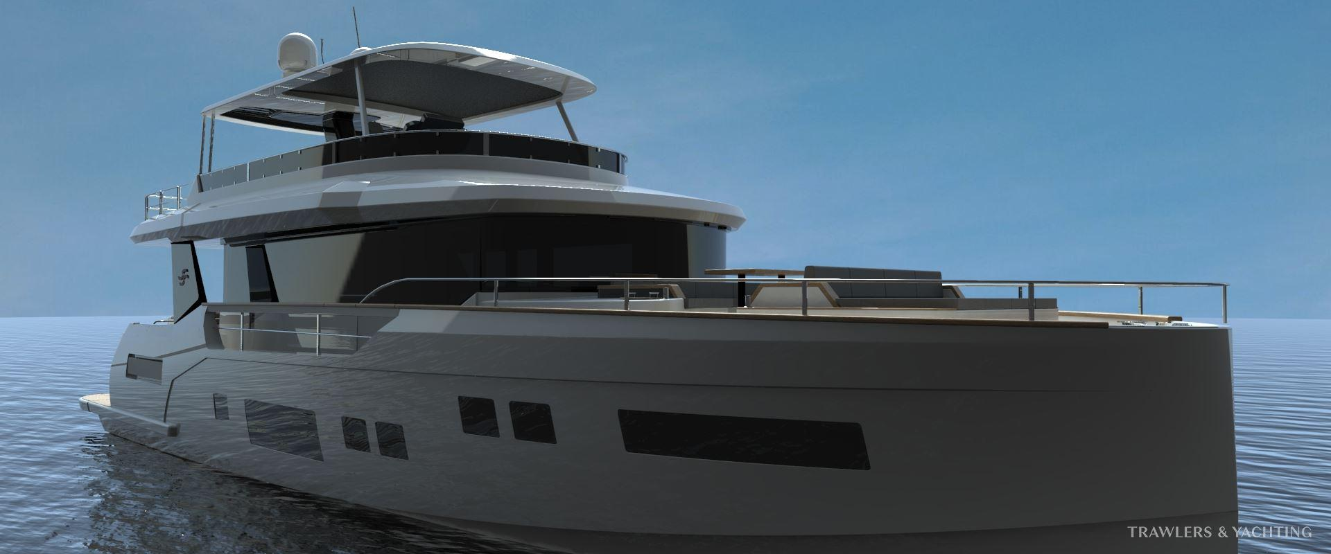 Nouveau Sirena 68 - Trawlers & Yachting - Mandelieu-la-Napoule (06)