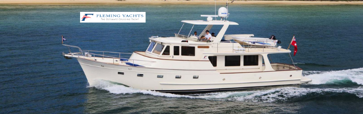 Fleming Yachts - New boats - Exclusive import Trawlers & Yachting - Mandelieu -la-Napoule