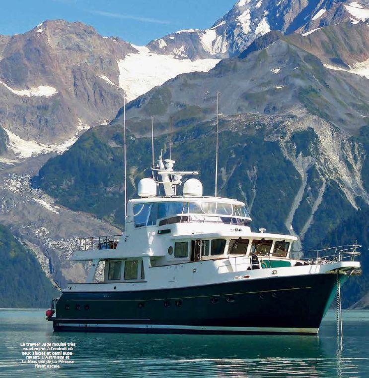 Trawlers Yachting - Selene 66 jade en Alaska - Joël Marc